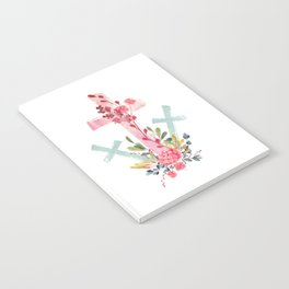 calvary floral Notebook