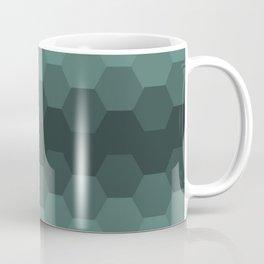 Teal Mint Honeycomb Coffee Mug