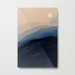 Moonlight View Metal Print