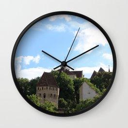 Sighisoara IV Wall Clock