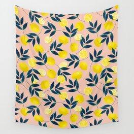 Lemony Goodness Wall Tapestry