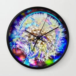 Pusteblume - dandelion Wall Clock