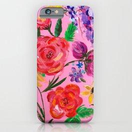 RandomFlowers iPhone Case