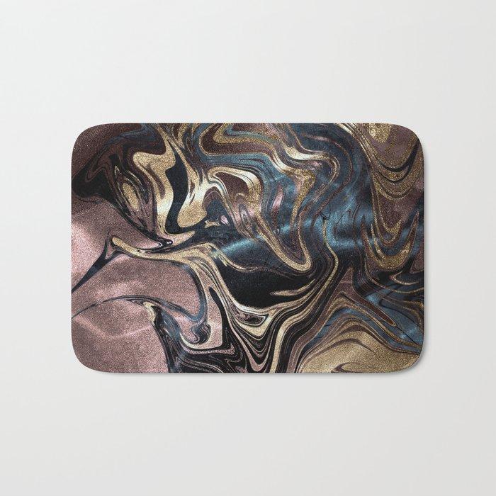 Deep Liquid Gold Bath Mat