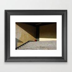 Red Point Framed Art Print