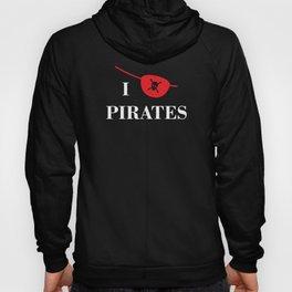 I heart Pirates Hoody