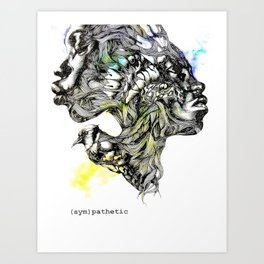 (sym)pathetic Art Print