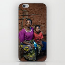 Nelly and mother iPhone Skin