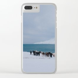 Iceland VII Clear iPhone Case