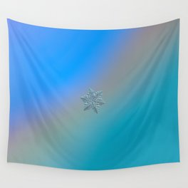 Real snowflake - 13 February 2017 - 5 alt Wall Tapestry