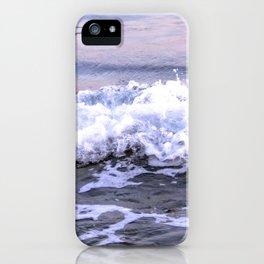 Violet Wave iPhone Case