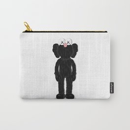 KAWS BFF - BLACK Carry-All Pouch