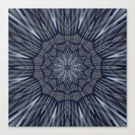 Winter mood mandala Canvas Print