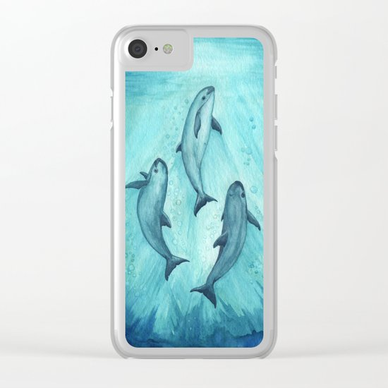 Song of the Vaquita Clear iPhone Case