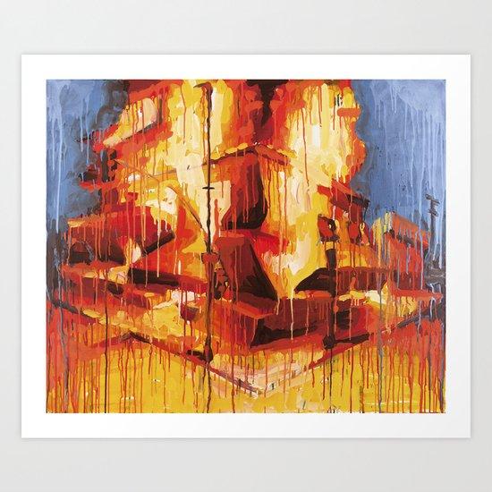 DAIMriots Art Print