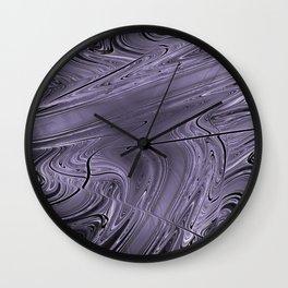 Liquid Metal Wall Clock