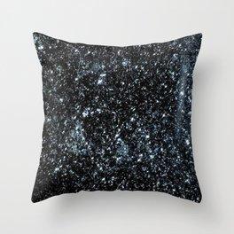 Specular Hematite Throw Pillow