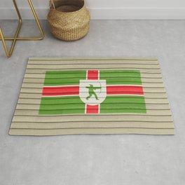 Flag of Nottinghamshire UK County Flag Nottingham Robin Hood  Rug