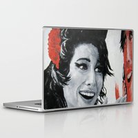 "amy sia Laptop & iPad Skins featuring ""Amy"" by Dmitry  Buldakov"