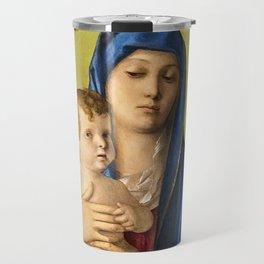 """Giovanni Bellini """"Madonna of the Small Trees (Madonna degli Alberetti)"""" Travel Mug"""