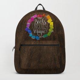 Books are Magic (wood) Backpack