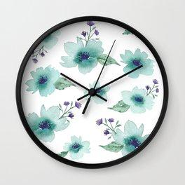 Pick Me a Bouquet Wall Clock