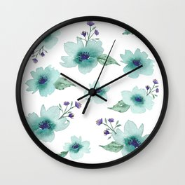 Pick Me a Bouquet Wall Clock