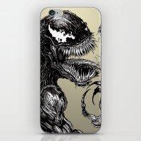 venom iPhone & iPod Skins featuring Venom by Dan Bingham