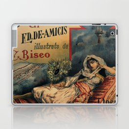 Constantinople Italian vintage book advertisement Laptop & iPad Skin