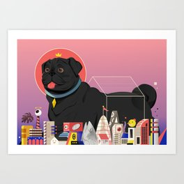 Casa Canis Art Print