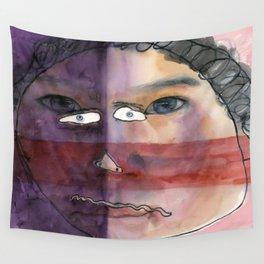 I feel shy Wall Tapestry