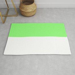 Lime-White Rug