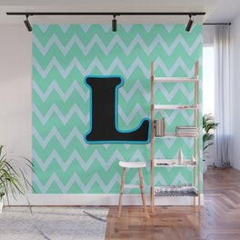 Letter L Wall Mural