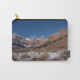 Zion Winter 4718 - National_Park, Utah Carry-All Pouch