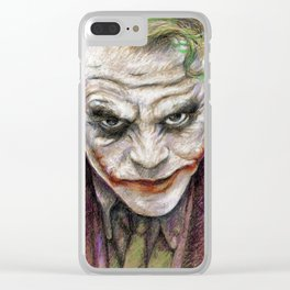 LET'S PUT A SMILE ON THAT FACE Clear iPhone Case