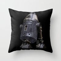 sci fi Throw Pillows featuring Steampunk Sci-Fi 4 by gypsykissphotography
