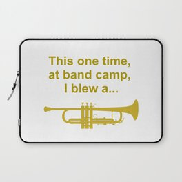 This one time at band camp Laptop Sleeve