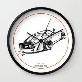 Crazy Car Art 0122 Wall Clock