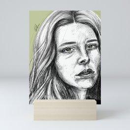 Maggie Rogers - Portrait Mini Art Print