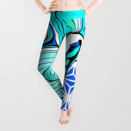 Gypsy Peacock Leggings