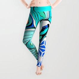 Gypsy Peacock Leggings