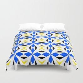 symetric patterns 9 -mandala,geometric,rosace,harmony,star,symmetry Duvet Cover