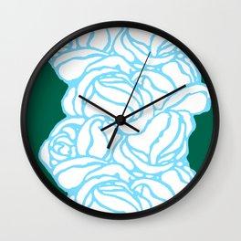"Koloman (Kolo) Moser ""Textile pattern (Roses)"" (2) Wall Clock"
