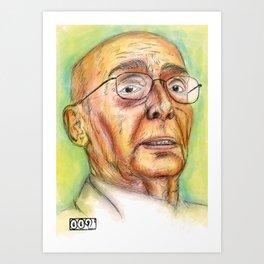 Saramago Art Print