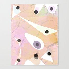 Colour Work Canvas Print