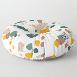Modern Terrazzo Fall Vibes Floor Pillow