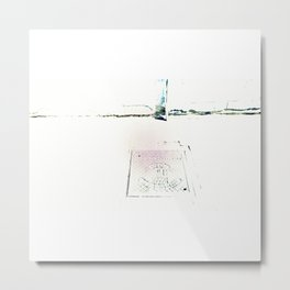 ouɐqɹn opɐɹqɯn|ɐ alumbrado urbano Metal Print