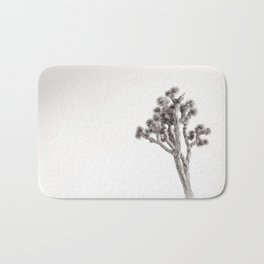 Joshua Tree in Black & White Bath Mat