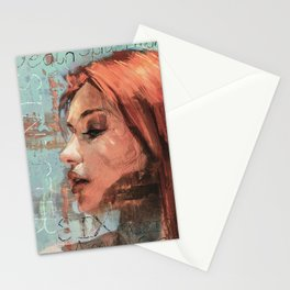 The Death of her true Love Stationery Cards