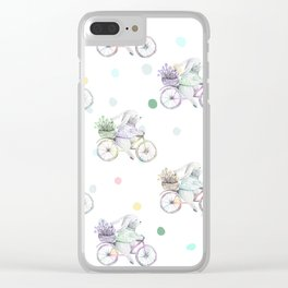 Peter Cottontail Clear iPhone Case
